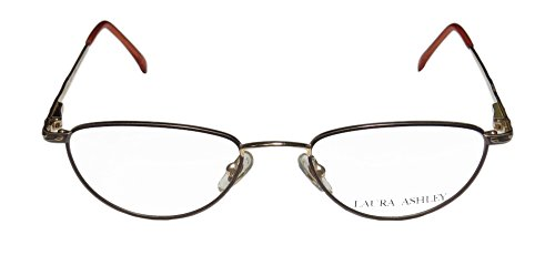 Laura Ashley Janet Womens/Ladies Designer Full-rim Eyeglasses/Eye Glasses (51-19-140, Taupe / Gold) (Air Force 1 Low Light Blue Shoes compare prices)
