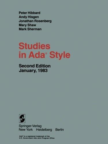 Studies in Ada® Style by Springer