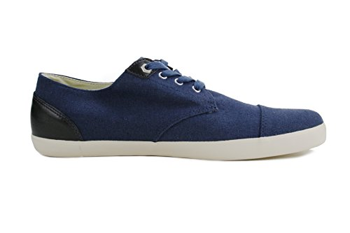 Burnetie Menns Marineblå Hauk Øyne Blonder-up Sneaker 9 M Oss