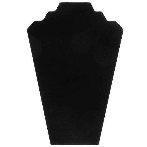 Black Velvet Necklace Easel Jewelry Display 12.5