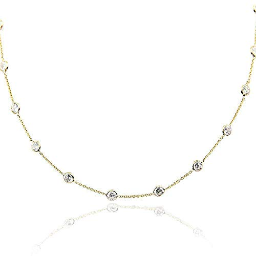 10 best station necklace cz 18