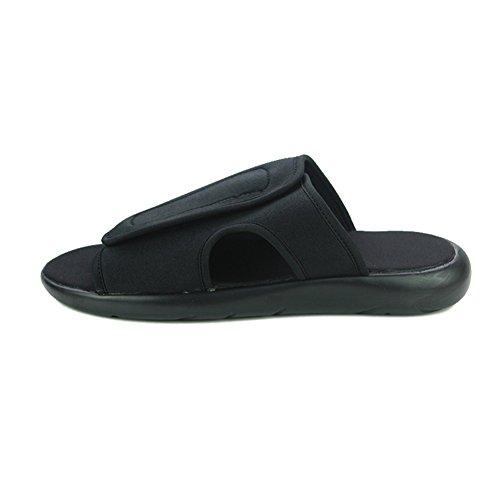 Antideslizante EU39 Tamaño 5 T1 Verano QIDI De Playa De Masculino Goma UK6 T1 Sandalias Respirables Zapatillas Color Zapatos UqccXwf6O
