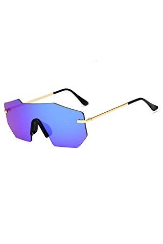 Azul Vintage De De Hombres Gafas Gafas Sol UV400 Marco Polarizadas Metal vCPCRwqxAn