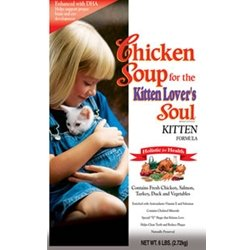 Chicken Soup for the Kitten Lover's Soul Dry Food, Chicken Formula, 15 Pound Bag, My Pet Supplies