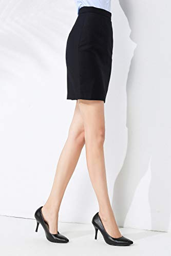 Conjunto Trajes Trasera Marino Fit Traje Clásica Negocios Mujer De Dividida Chaqueta Camisa Blazer Vestir Corta Formal Informal Elegante Slim Pantalón Falda Rojeam azul HwqIx8Bf