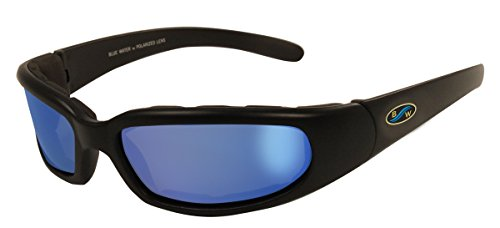 Bluwater Polarized Floating 6 Sunglasses With G-Tech Blue Lens & Matte Black - Sunglasses Blue Tech