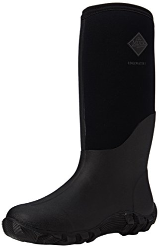 Muck Boot Mens Edgewater II Tall Snow Boot, Black, 8 D(M) US