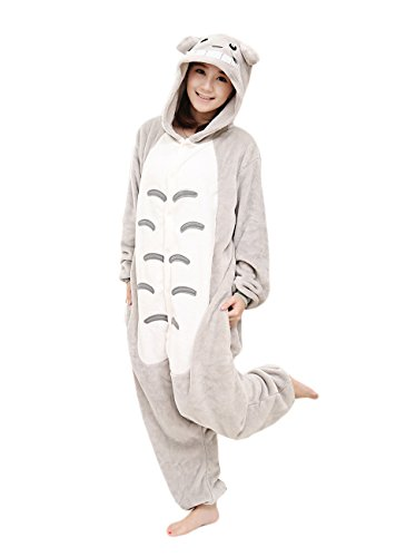 Animale Adulto Yimidear® Neighbor Attrezzatura Totoro Cosplay Unisex Halloween Costume Pigiama SfHHgt6