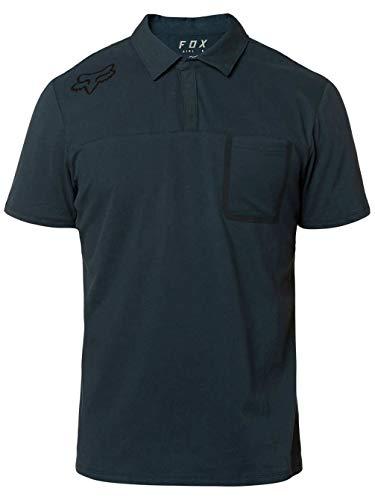 Fox Racing Men's Redplate 360 Tech Shirts,Large,Navy (Polo Mens Racing)