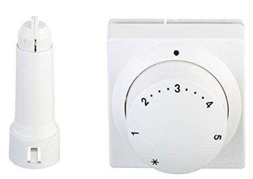 Danfoss Thermostatkopf F/ühlerelement mit Ferneinsteller RA 5062