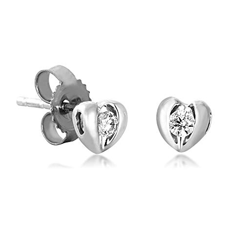 (Sirena Diamond Earrings in 10k White Gold - JSL1512WR5J)