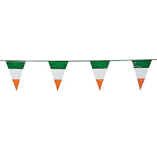 Fun Express Irish Flag Pennant Banner