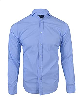 New Born Striped Long Sleeves Cotton Shirt for Men