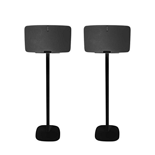 Vebos floor stand Sonos Play 5 gen 2 black set en optimal experience in every room - Allows you to place your SONOS PLAY 5 exactly where you want it - Two years warranty by Vebos