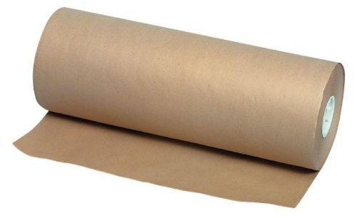 School Smart Paper Roll - 50 pound - 18 inch x 1000 feet - Kraft by School Smart by School Smart