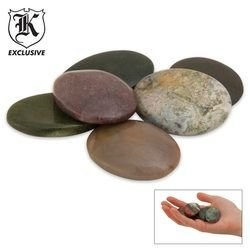 Worry Stones (Pack of 6), Outdoor Stuffs