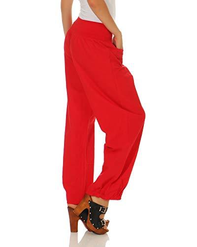 da Rosso semplici lino pantaloni pantaloni di casual donna ZARMEXX wIavU