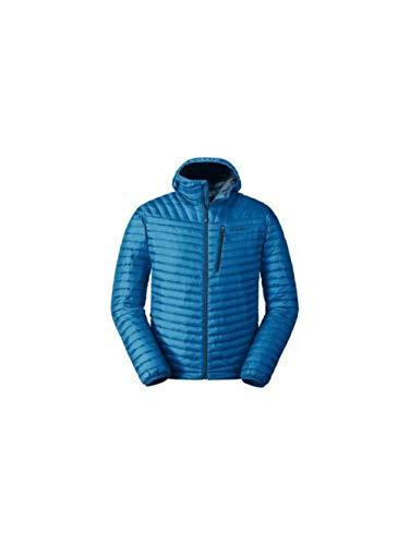 Eddie Bauer Men's MicroTherm 2.0 StormDown Hooded Jacket, Ascent Blue Regular L ()