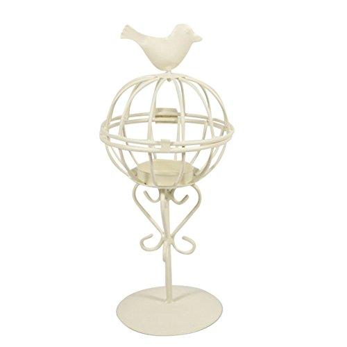 Bird Cage Iron Candlestick Innovative Wedding Home Furnishing Decoration Windproof Light Artware by Aneil