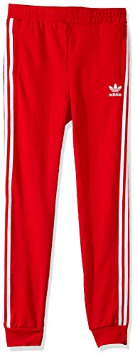 adidas Originals Little Kids Trefoil Pant, Scarlet/White, - Pants Scarlet