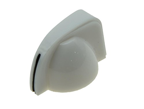 Chicken Head Amp Knob - KAISH 20pcs Pure White Guitar Mini Miniature Chicken head Knobs AMP Amplifier Effect Pedal Knobs