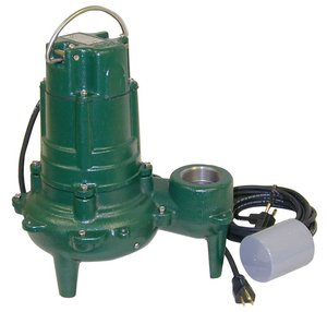 - Sewage Pump with Variable Level Float Switch
