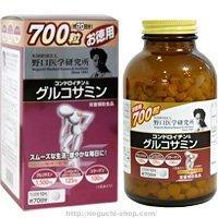野口医学研究所 コンドロイチン&グルコサミン700粒(お徳用 お得な3個セット B00B7YCCHC