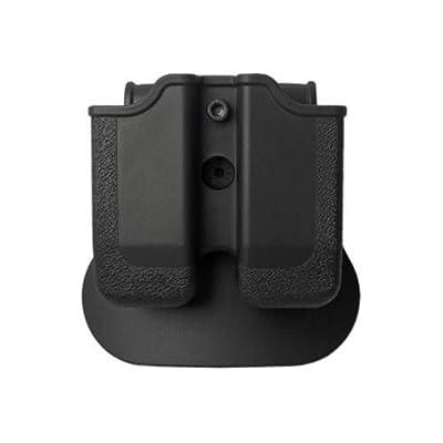 IMI Defense Z1140 Tactical Combo Kit Roto Retention Paddle Holster + Double Magazine Pouch + Belt Holster Attachment For Heckler & Koch USP Full-Size (9mm/.40) Pistol Handgun