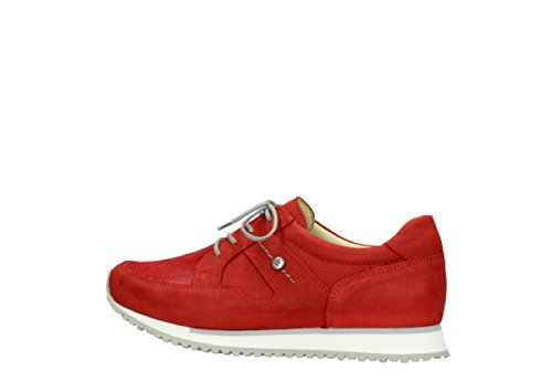 Wolky 5804 Stretch Rot Sneaker 11500 10820 Nubuck Donna q4HqFSr