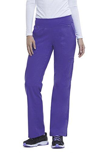 healing hands Purple Label Yoga Women's Tori 9133 5 Pocket Knit Waist Pant Trugrape-XX-Large Tall