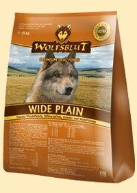 Wide Plain Trockenfutter für Hunde mit frischem Pferdefleisch und Süßkartoffeln 2x15 kg (Doppelpack) Wolfsblut