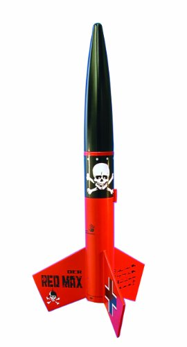 Estes 0651 Der Red Max Flying Model Rocket Kit