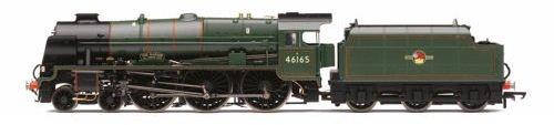 (Hornby R3558 4-6-0 The Ranger 46165 Royal Scot Class/Late BR Train Model Set)