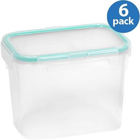 Snapware Airtight Plastic 4.7-Cup Rectangle Food Storage ...