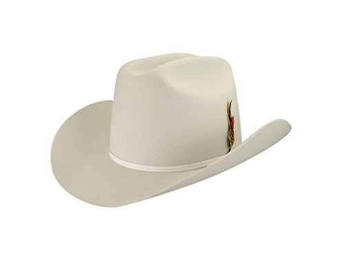 Bailey Western Male Ctrm 2X Western Hat White - Bailey Hats Western
