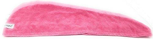 Turbie Twist 6 Pack Light and Dark Pink,Purple, Aqua Microfiber Hair towels by Turbie Twist (Image #5)