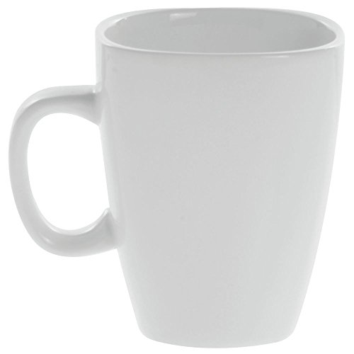Front Of The House Mod White Porcelain 11 Oz Cup