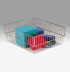 Charnstrom Compact Wire Parcel Basket (1350B) by Charnstrom