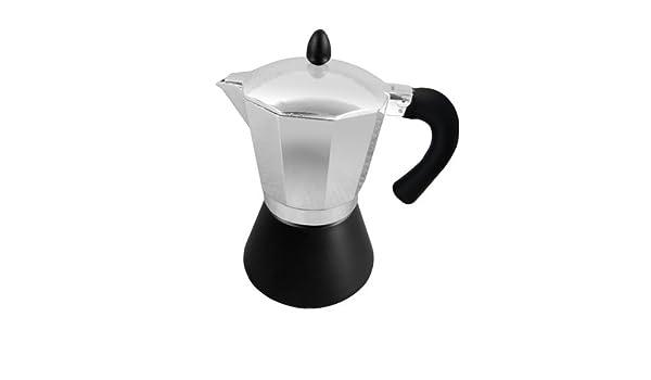 Evila Palson 2701744 - Cafetera italiana, negro y gris: Amazon.es ...