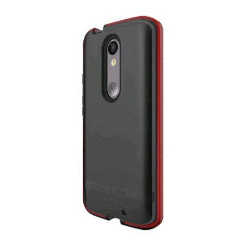 huge discount faf97 37f50 Tech21 Evo Shell Ultra Thin Shock Absorbing Case for Motorola Droid Turbo 2  - Smokey Red in Retail Package