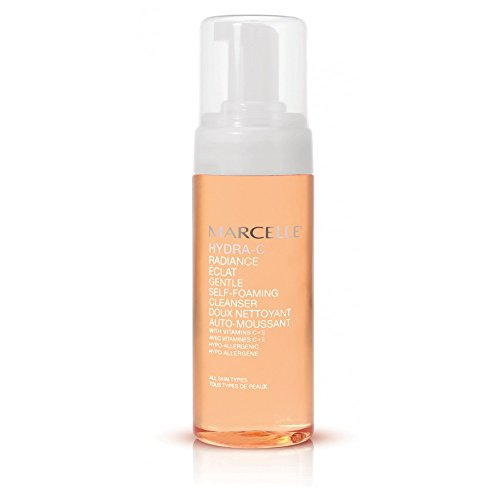 Marcelle Hydra-C Gentle Self-foaming Cleanser, Hypoallergenic and Fragrance-Free, 5 Fl. Ounce