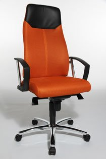 Gautier One Fauteuil Manager OrangeFournitures Office kuPZiX