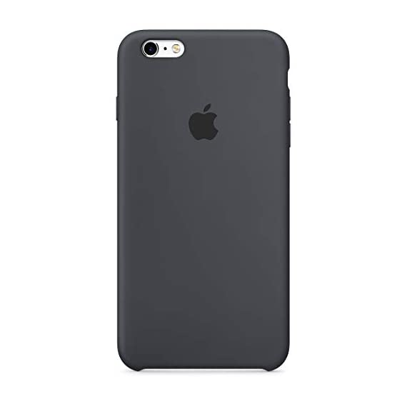 apple silicone case (for iphone 6s plus)  - charcoal gray - 31YLf4ucqOL - Apple Silicone Case (for iPhone 6s Plus)  – Charcoal Gray