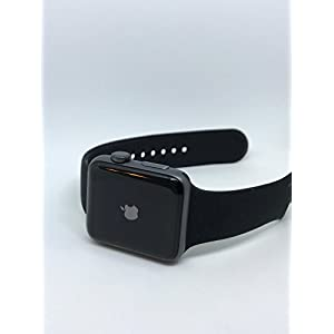 Apple Series 2 Watch for iPhone – 42mm Space Gray Aluminum Case with Black Sport Band
