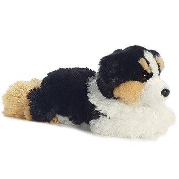 """""""Auzzie"""" Stuffed Australian Shepherd - Set Of 2"""