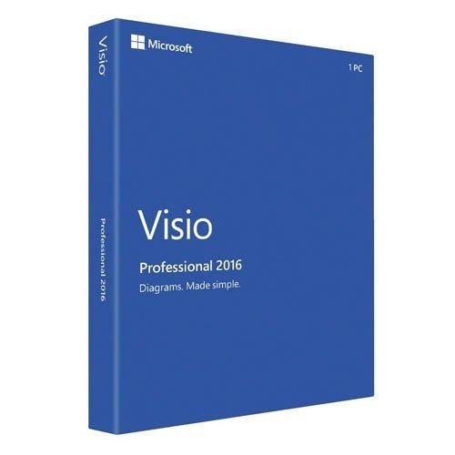 Microsoft D87 07120 Visio Professional 2016 product image