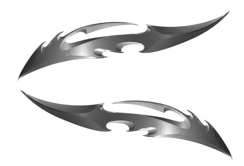 Blade Kawasaki Ninja ZX 14R 12R 10R 7R 6R 650R 600 250R Suzuki GSXR 1000 750 600 Hayabusa Yamaha YZF R1 R6 FZ1 FZ6 FZ8 Honda CBR 1000RR 600RR 600 F4I Motorcycle Sticker Decal by Immortal Graphix (Image #1)'