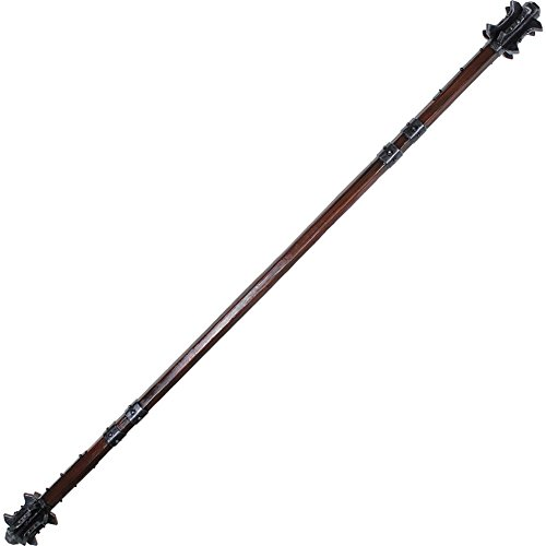 Epic Armoury Double Headed LARP Staff Mace Foam Cosplay Weapon and Costume Pole Arm by Armor Venue