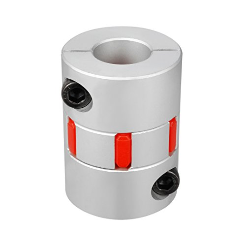 uxcell 19mm to 19mm Shaft Plum Shaped Coupling Coupler 40mm Diameter 55mm Length by uxcell