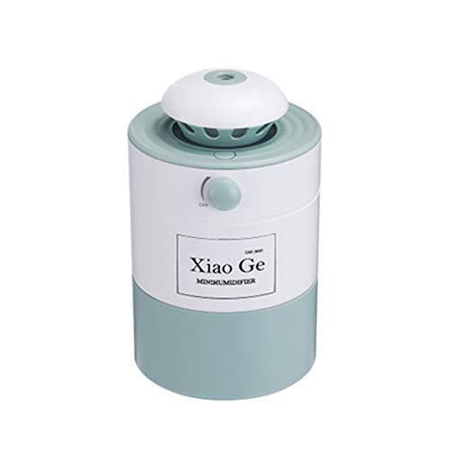 Humidificador Ultrasónico Aromaterapia 500 ml, Difusor de Aceites Esenciales, Ambientador, Humidificador Bebes, Hogar,...